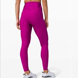 New LULULEMON Chase the Chill High Rise Tight 8